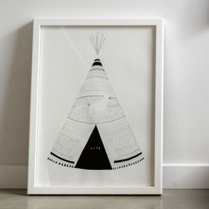 Image of Teepee. By Laura Shallcrass.