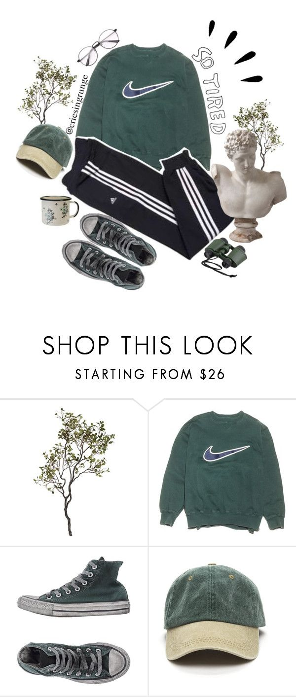 """""""Untitled #1084"""" by plumpyprincess ❤ liked on Polyvore featuring Crate and Barrel, NIKE, adidas, Converse, xO Design, MABEL and Old Navy"""