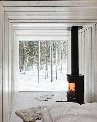 Cabin designed by Finnish Architect Ville Hara for Avanto Architects