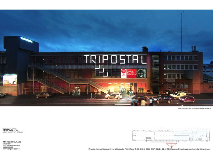 Architecture->Espace culturel, lieu réhabilité/Lieu: Lille/Architecte: Inconnue/Materiaux: Briques, verre.