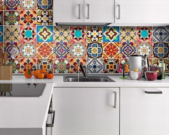 Die Besten 25+ Mexikanische Fliesen Küche Ideen Auf Pinterest    Spritzschutz Mit Kuchenruckwand 85 Effektvolle