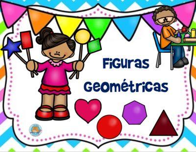 Tarjetas para trabajar las figuras geométricas en español e ingles