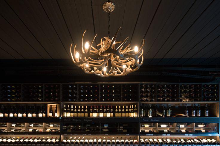 Dan Murphy's Cellar. Prahran. Lighting design by Glowing Structures.