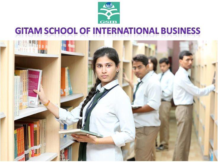 Study MBA in GITAM School of International Business