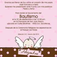 Resultado de imagen para invitaciones para bautizo gratis para editar e imprimir para niñas con angelitos