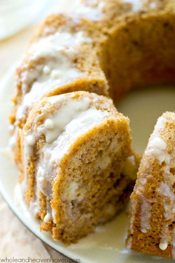 Glazed Fresh Apple Bundt Cake   Recipe   Bundt cakes ...