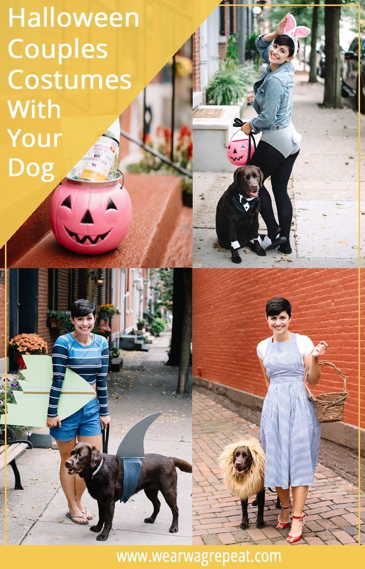 Easy Halloween Couples Costume You Can Do With Your Dog Dog Mom