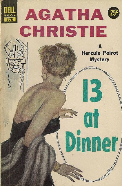 13 à Mesa por Agatha Christie, voce sabe que quando há 13 pessoas em volta de uma mesa uma delas morre não sabe?