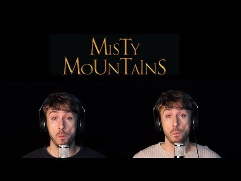 The Hobbit - Misty Mountains - Peter Hollens Acappella. This. Oh this. It's gorgeous. I just hope that, hiding away waiting for the extended edition, is a version with all the verses actually sung by the whole dwarf crew!