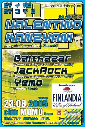Valentino Kanzyani live at Club MOMO, 23.08.2005