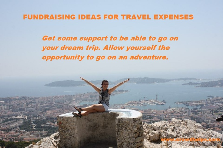 Get some support to be able to go on your dream trip. Allow yourself the opportunity to go on an adventure. #crowdfunding #women www.crowdhelps.com