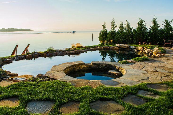Les 25 meilleures id es de la cat gorie piscine liner noir for Liner bassin