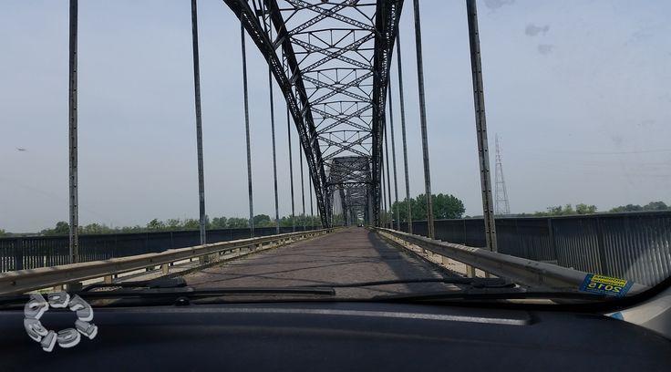 Ponte della Gerola - fiume Po-  -Pv-Lombardia