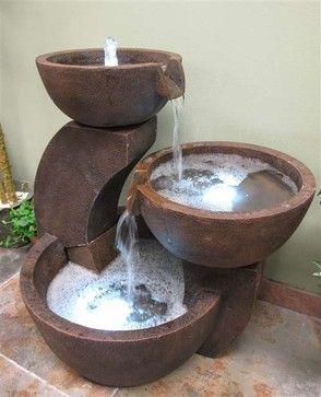 Garden Fountains traditional outdoor fountains
