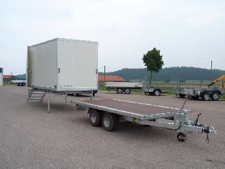 Absetz-Koffer System - Spezial-und Sonderanhänger - LkW- und Sonderanhänger - Anhänger & Aufbauten - HRB Heinemann AG