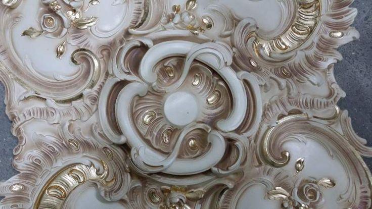 Stucco decorato R 906 A.S.F. gold oro foglia 7