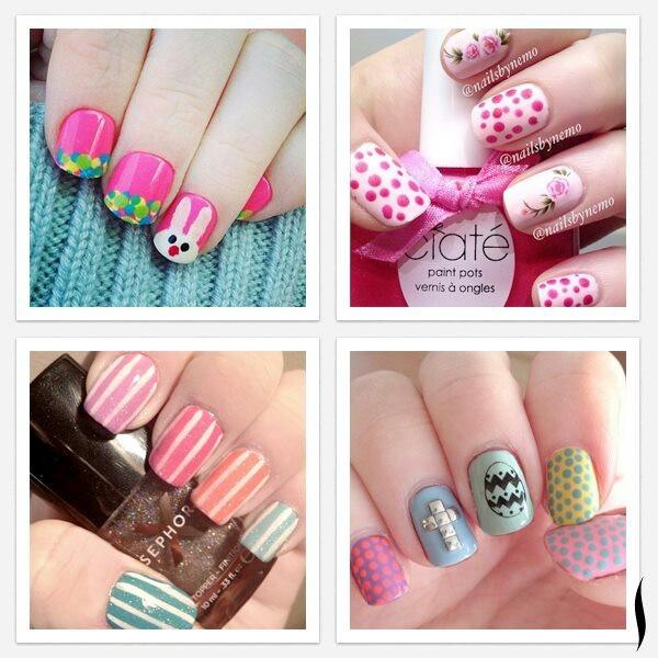 Beautiful cute gorgeous nails!super creative