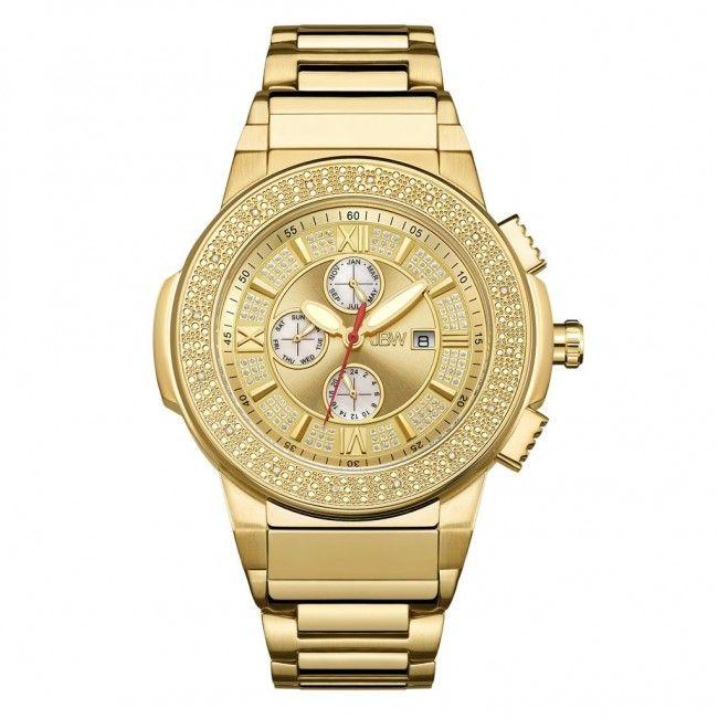 Plasmalift Plasma Soft Surgery Gold Plated Watch Stainless Steel Bracelet Gold Watch