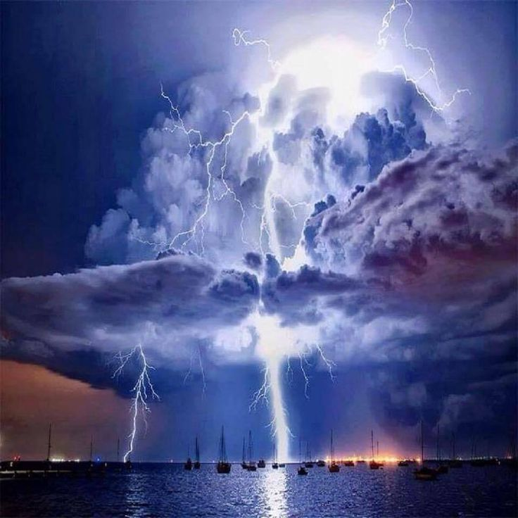 Amazing Cloud Photography: 481 Best Images About Lightning⚡ Rainbows ⋓ Clouds☁ On