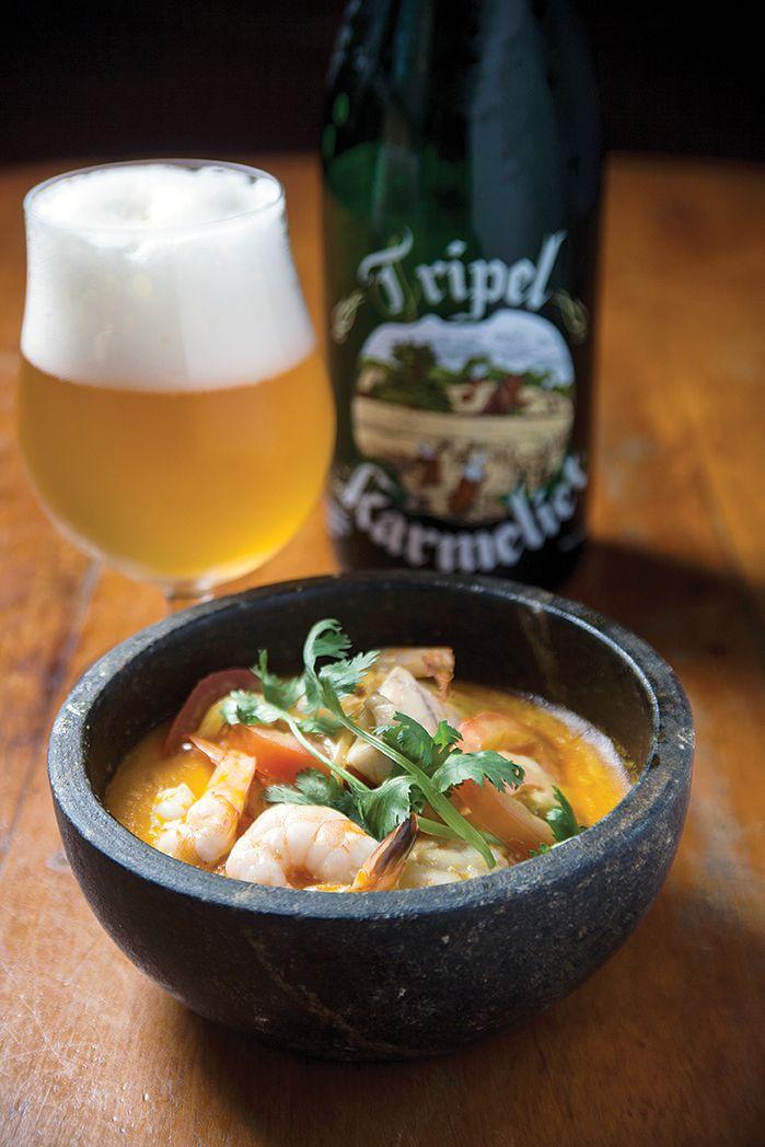 2 porções 150 g de camarão limpo 150 g de filé de peixe 50 g de cebola-branca fatiada 250 ml...
