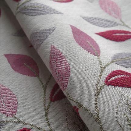 Summer Days Fuchsia Leaf From Loome Fabrics