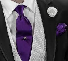 corbatas moradas elegantes - Buscar con Google