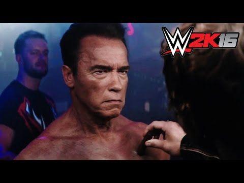 WWE 2K16 - The Terminator Trailer - YouTube