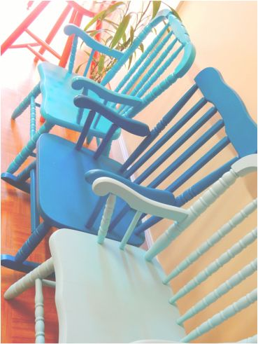 Children's chairs.
