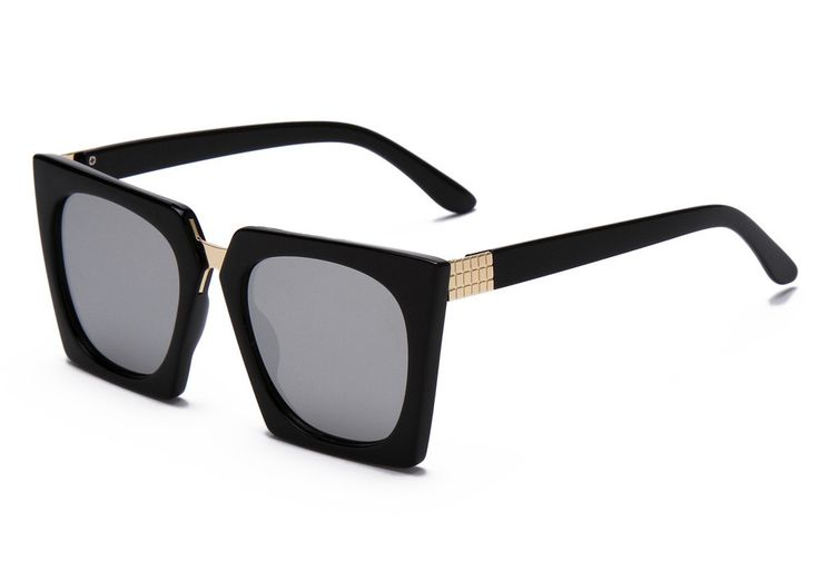 Fashion Trend Cat Eye Sunglasses Women Square Frame Catwalk Models