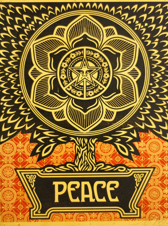 26 best Obey tattoos to get images on Pinterest   Shepard fairey ...