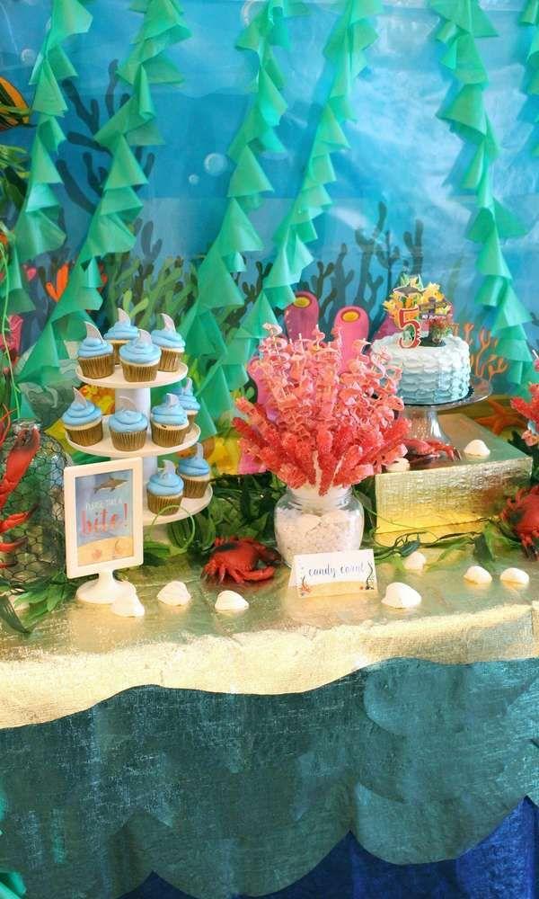 Ocean Birthday Birthday Party Ideas Ocean Birthday Party Ocean