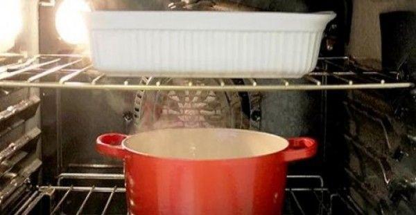 ΠΑΝΕΥΚΟΛΗ ΜΕΘΟΔΟΣ να ΚΑΘΑΡΙΣΕΤΕ τον φούρνο σας!!!!