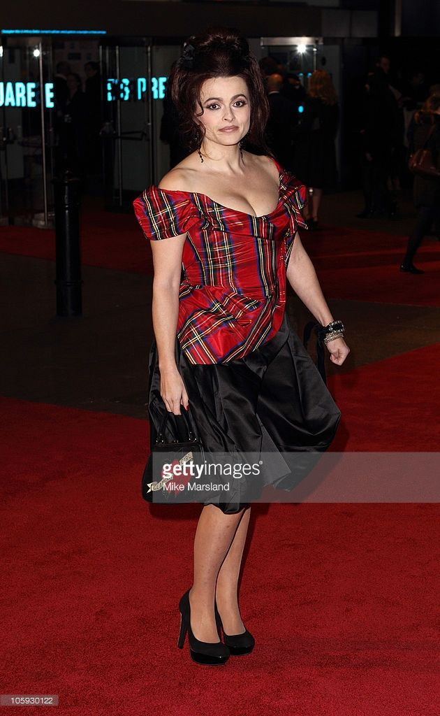 Helena Bonham Carter arrives at the premiere of 'The King's Speech' as part of the 54th BFI London Film Festival at Odeon Leicester Square on October 21, 2010 in London, England.