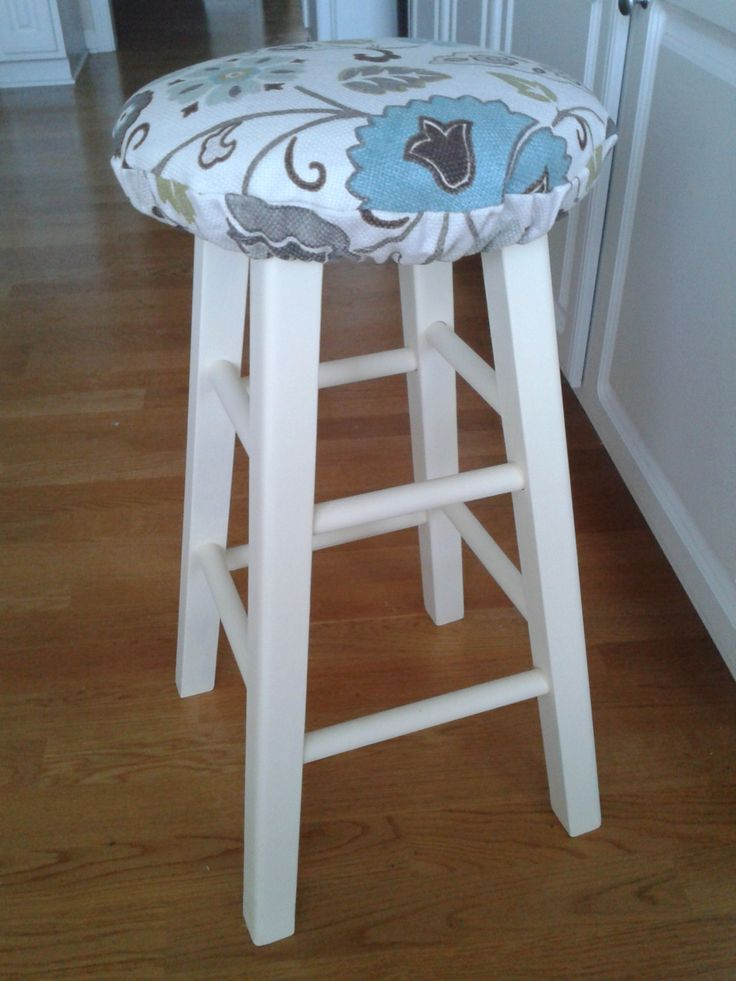 DIY Stool Cushion - Use for Breakfast Bar Stools : counter stool covers - islam-shia.org