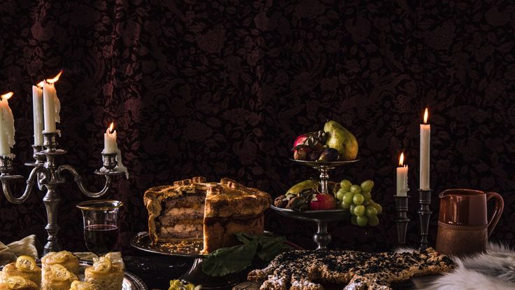 Feast on pigeon pie, direwolf bread, and Sansa's lemon cakes.