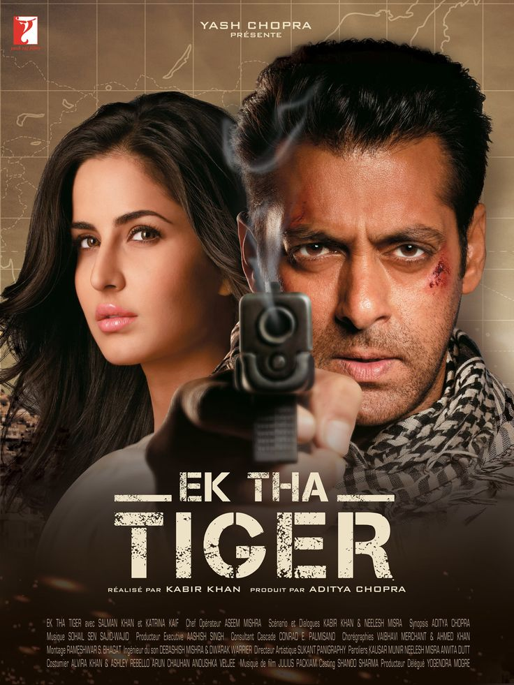 Ek Tha Tiger (English: Once There was a Tiger) is a 2012 Indian action spy film, directed by Kabir Khan and produced by Aditya Chopra of Yash Raj Films. It stars Salman Khan and Katrina Kaif, and features Ranvir Shorey, Girish Karnad, Roshan Seth and Gavie Chahal in supporting roles.[4] The film was the third collaboration of Kabir Khan with Yash Raj Films after Kabul Express (2006) and New York (2009). The plot centers on an Indian spy (RAW) code-named Tiger