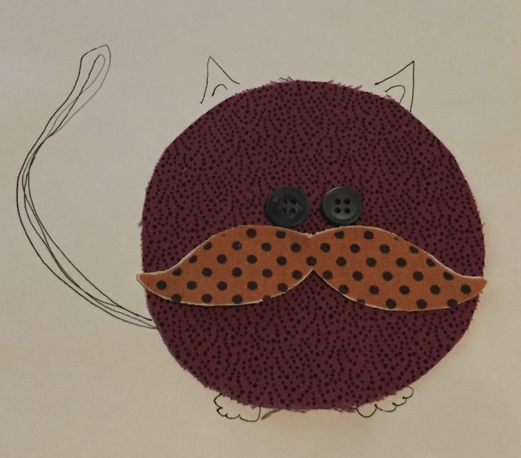 Chubby Critters Quilt...Cat