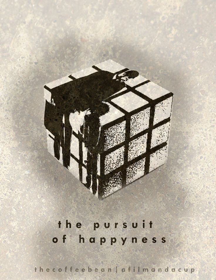The Pursuit of Happyness (Minimalist Movie Poster) by themanwiththecoffee on deviantART