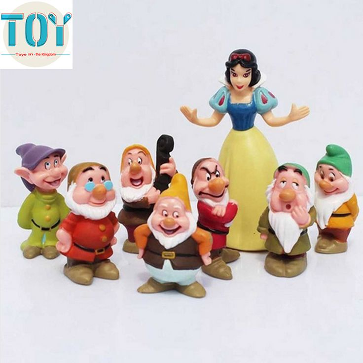 Find More Action & Toy Figures Information about New 8 PCS Snow White and the Seven Dwarfs Classic PVC Action Figures Doll Cake Topper for Baby Girl Kids Toys Gift with Tracking,High Quality toy baby grand piano,China toy mouse Suppliers, Cheap toys barney from Toys in the Kingdom on Aliexpress.com