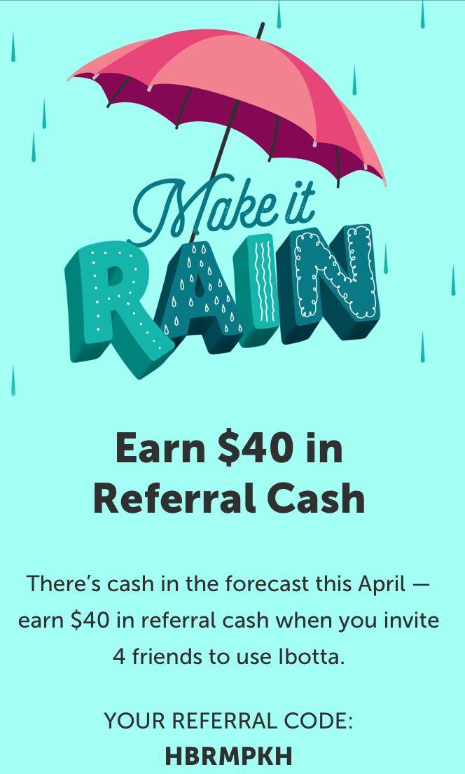 Use referral code HBRMPKH to start earning $  #ibotta #free #money