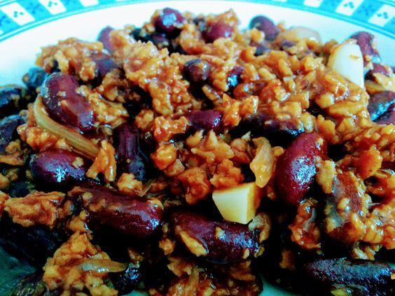 Chili sin carne express | Recette sans viande, Cuisine ...