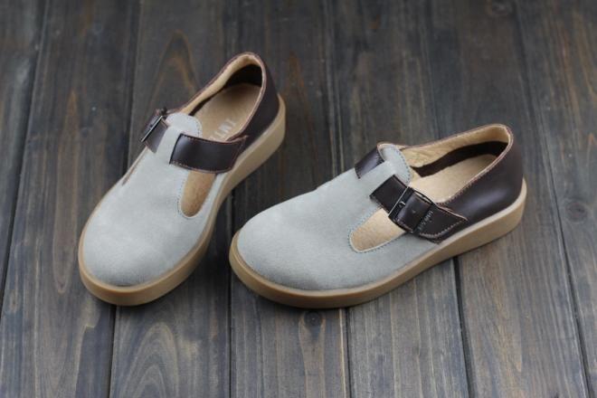 Японская школьница обувь марка дизайнер квартиры мори девушка туфли-loafer обувь из натуральной кожи свободный стиль ( h256 )