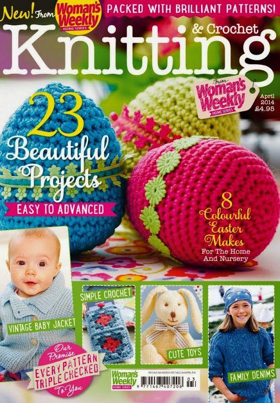 Woman's Weekly Knitting & Crochet 2014 04