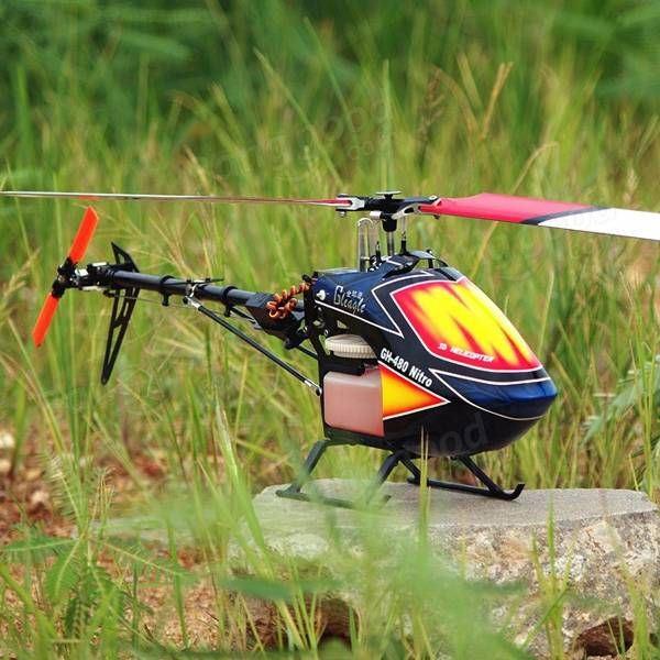 Global Eagle 480N DFC Fuel Oil Nitro RC Helicopter Frame Kit Sale - Banggood.com