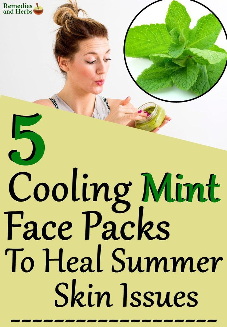 5 Cooling Mint Face Packs To Heal Summer Skin Issues