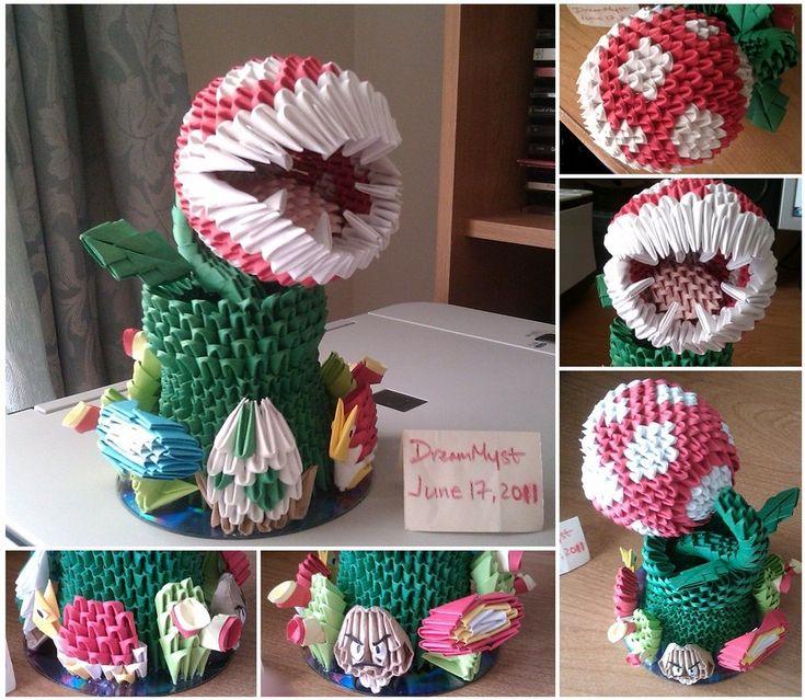 Paper craft mario