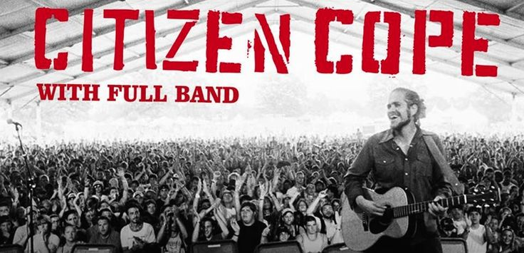 Enter for a chance to win a pair of tickets to Citizen Cope at the Fox Performing Arts Center in Riverside on November 1st!