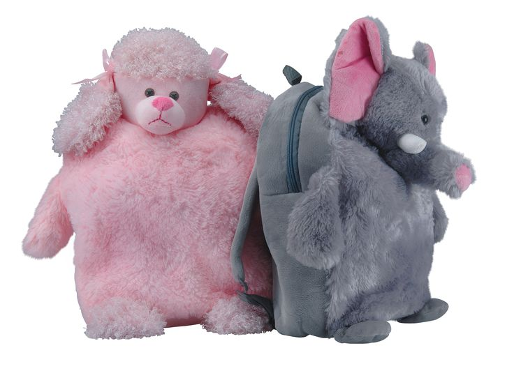How cute are these?! Our Animal backpacks can even make Monday's a little bit fun.