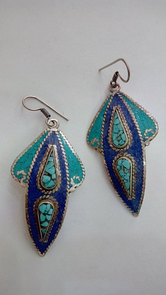 Check out this item in my Etsy shop https://www.etsy.com/listing/228495304/tibetian-earings