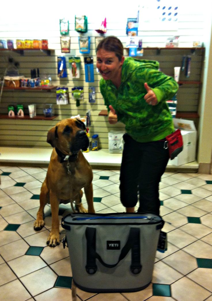Congrats to Irene K. and Misty on winning one of our Yeti Coolers sponsored by Bravecto! CONGRATS!